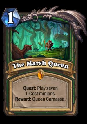 The Marsh Queen Card