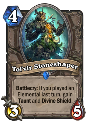 Tol'vir Stoneshaper Card