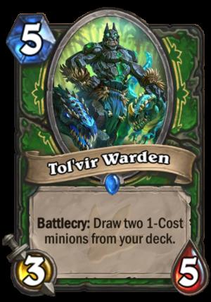 Tol'vir Warden Card