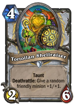 Tortollan Shellraiser Card