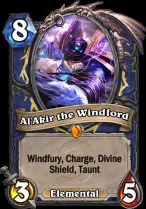 Al'Akir the Windlord Card