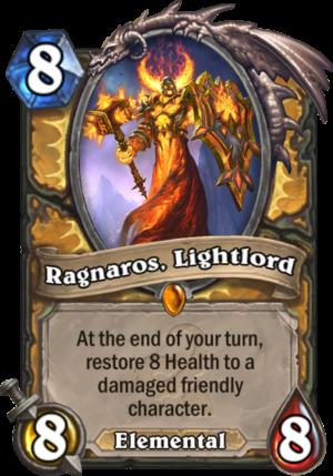 Ragnaros, Lightlord Card