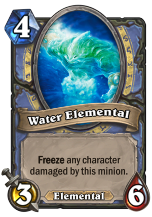 Water Elemental Card