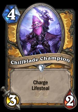 Chillblade Champion Card