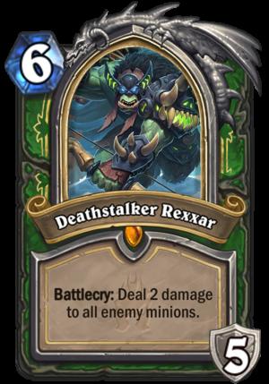 Deathstalker Rexxar Card