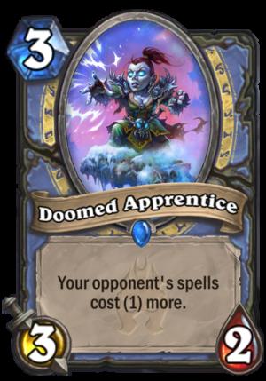 Doomed Apprentice Card