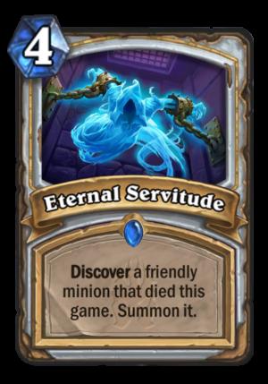 Eternal Servitude Card