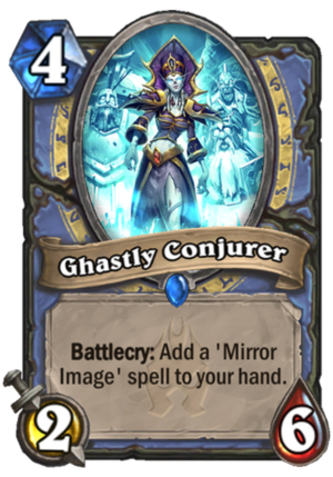 Ghastly Conjurer Card