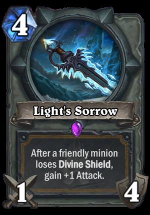 Light's Sorrow Card