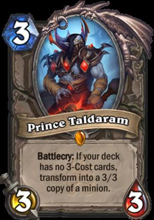 Prince Taldaram Card