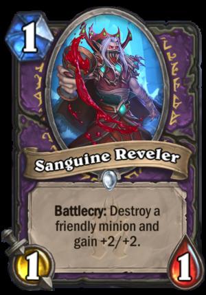 Sanguine Reveler Card