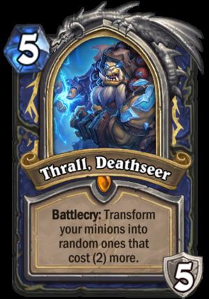 Thrall, Deathseer Card