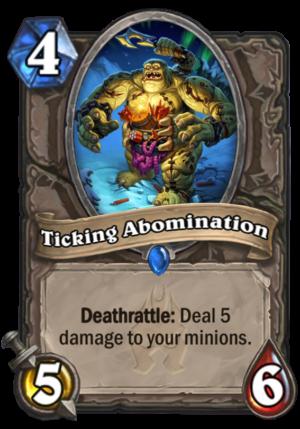 Ticking Abomination Card