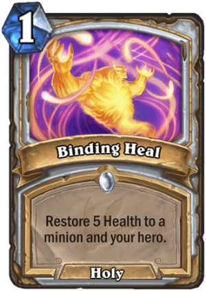 Binding Heal Card