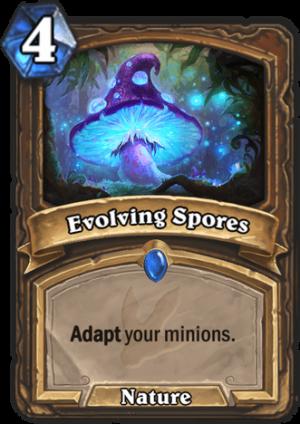 Evolving Spores Card