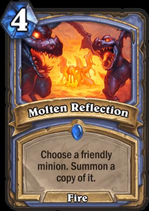 Molten Reflection Card
