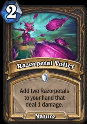 Razorpetal Volley Card
