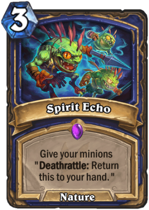 Spirit Echo Card