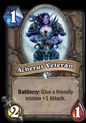 Acherus Veteran Card