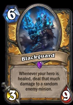 Blackguard Card