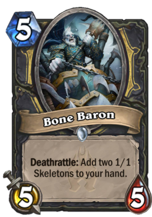 Bone Baron Card