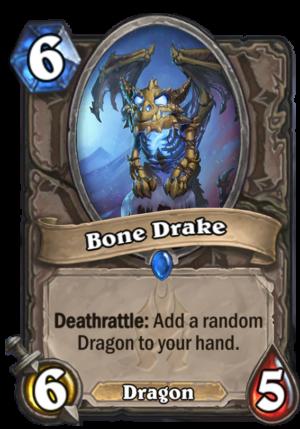 Bone Drake Card