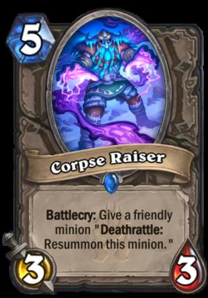 Corpse Raiser Card