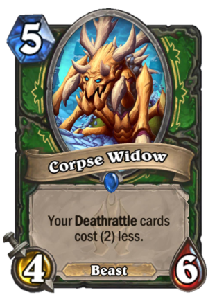 Corpse Widow Card