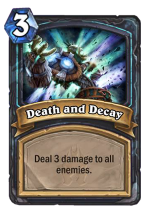 Death and Decay Card