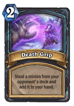 Death Grip Card