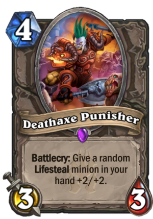 Deathaxe Punisher Card