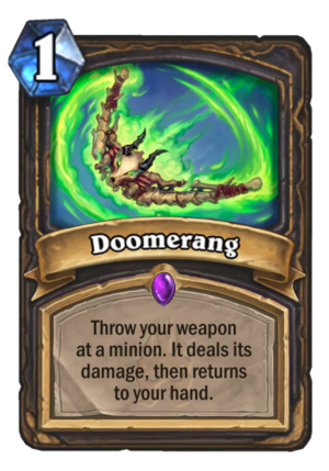 Doomerang Card