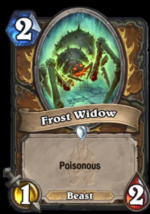 Frost Widow Card