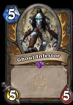 Ghoul Infestor Card