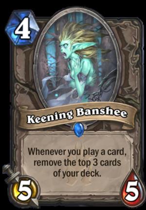 Keening Banshee Card
