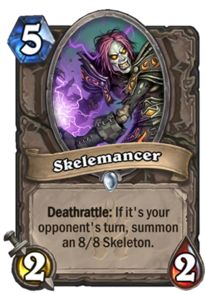 Skelemancer Card