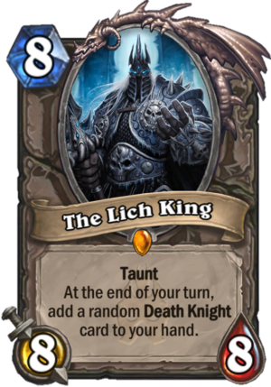 The Lich King Card