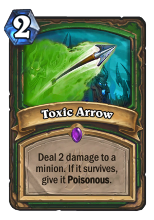 Toxic Arrow Card