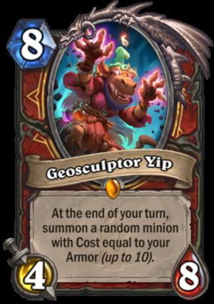 Geosculptor Yip Card