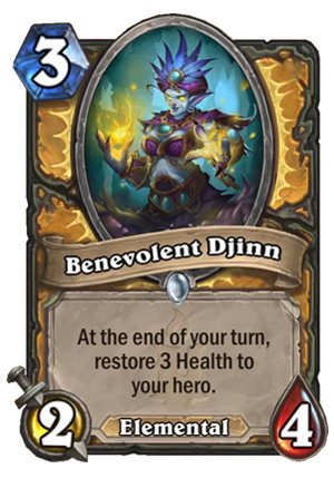 Benevolent Djinn Card