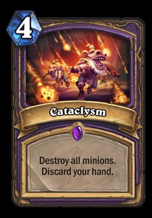 Cataclysm Card