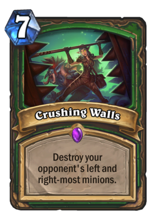 Crushing Walls Card