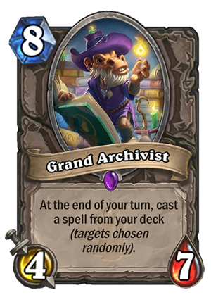 Grand Archivist Card