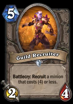 Guild Recruiter Card