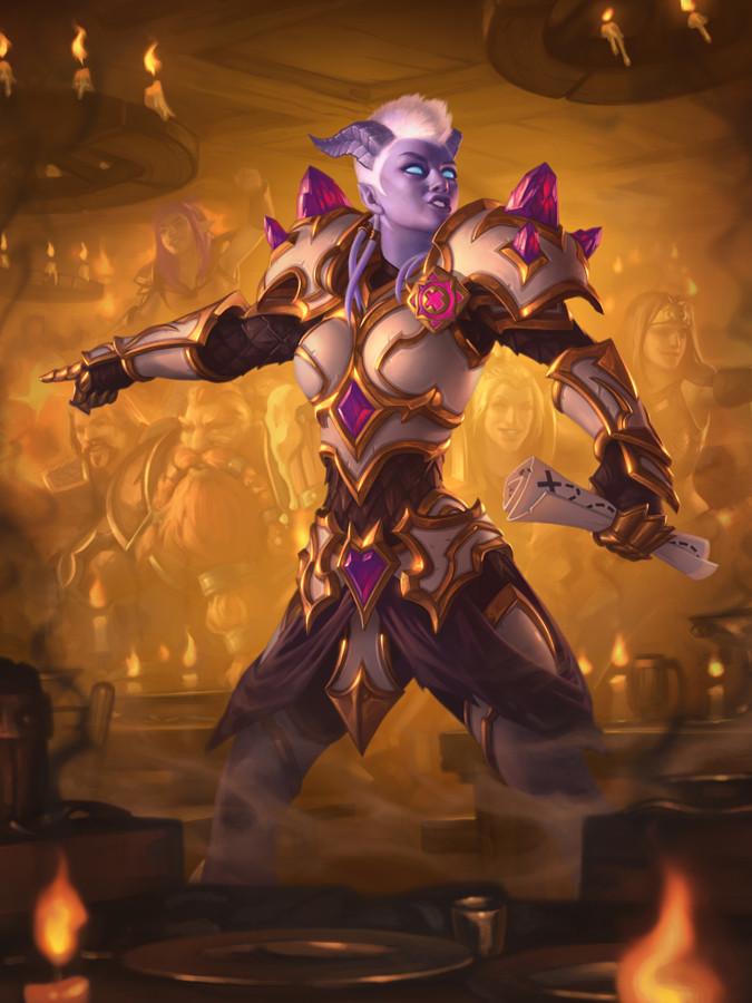 Guild Recruiter Full Art