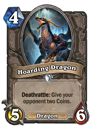 Hoarding Dragon Card