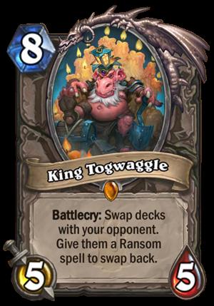 King Togwaggle Card