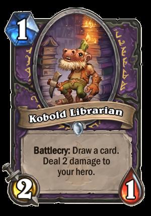 Kobold Librarian Card