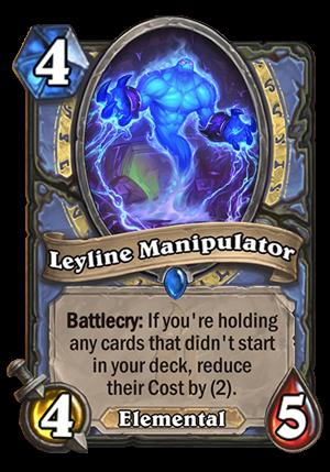 Leyline Manipulator Card