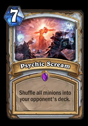 Psychic Scream Card